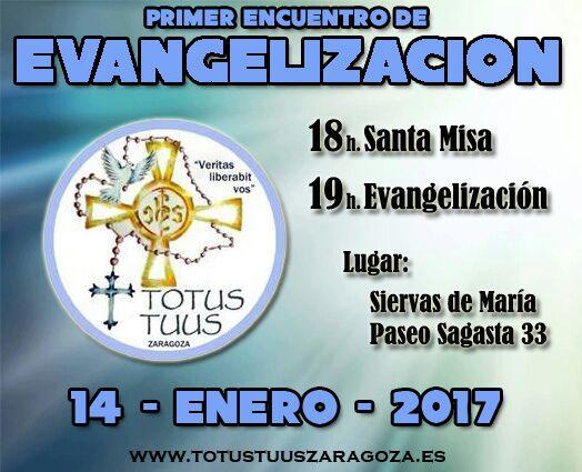 TT Evangelización 14-01-2017